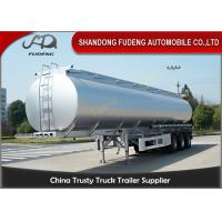 Wholesale Spring suspension 55000 Liters fuel tanker FUWA axles 12 tires from china suppliers