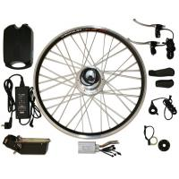 "Quality CE approved 26"" or 28"" electric bike conversion kits Full Package with 10AH li-ion for sale"