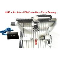 Wholesale 4 Axis USB Controller CNC 6040 3D CNC Router With 800w / 1.5kw Water Cooled Spindle from china suppliers