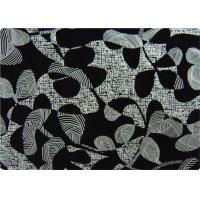 Wholesale Black Printed Flocked Fabric / Cloth For Home Textile Sofa Pillow from china suppliers