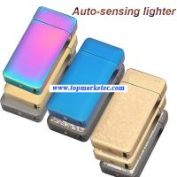 Buy cheap automatic cigarette lighter Double ARC pulse usb charging lighter from wholesalers