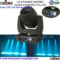 Wholesale 75W Led Moving Head Spot Rainbow Effect Concert Disco Light Sound Activated from china suppliers