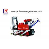 Buy cheap 8HP Wheat Reaper Binder Mini Wheat Reaper Binder with 180 water cooling diesel engine from wholesalers