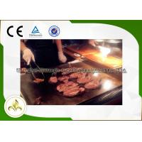Quality Rectangle Electromagnetic Outdoor Hibachi Grill Table For Beef / Mutton for sale