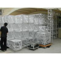 Quality Metal Trussing 450mm Stage Truss Display Auto Show 18 Meters Maximum Span for sale
