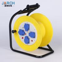 Buy cheap Rubber C Type Extension Cord Hose Reel With Electric Leakage Protection from wholesalers