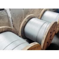 Wholesale Strong Adhesion Galvanized Steel Wire Cable , 1 19 Galvanized Aircraft Cable from china suppliers
