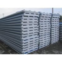 Wholesale Heat Insulation Roof Sandwich Panel / EPS Sandwich Panel 10 - 18kg / ㎡ from china suppliers