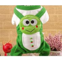 Wholesale Frog Shaped Winter Cotton medium Dog Clothes With Four Legs for Bichon Frise from china suppliers