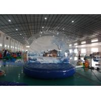 Wholesale Outdoor Inflatable Advertising Balloons , 4 M Christmas Inflatable Snow Globe from china suppliers