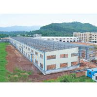Buy cheap Long Lifetime Prefab Commercial Building Steel Structure Hangar Shed Warehouse from wholesalers