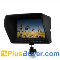 Wholesale 7 Inch On-Camera 1080P Monitor for DSLR (Built-in Speaker, HDMI Out) from china suppliers