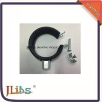M8 / M8+10 Nut Steel Galvanized Pipe Clamps With EPDM Rubber