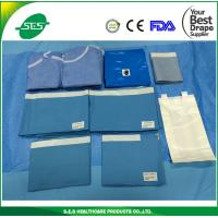 Wholesale SMS reinforced disposable general surgery medical drape pack universal surgical drape from china suppliers