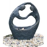 "Wholesale Happy Couple Small Garden Fountains , 26"" Lighted Water Fountain from china suppliers"