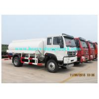 Wholesale White EURO III Water Tanker Lorry  15000L , 4x2 Fuel Tanker Trucks from china suppliers