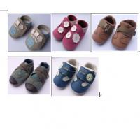 Wholesale large quantity toddler's shoes genuine leather footwear stock inventory for wholesale from china suppliers