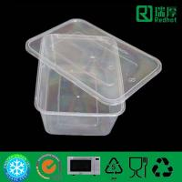 Plastic food packaging container plastic lunch box 650ml