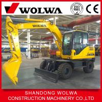Wholesale DLS100-9A 9.7Ton Wheel excavator with Master valve from South korea from china suppliers