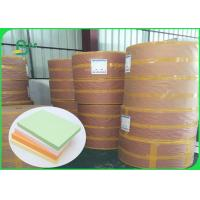 Wholesale FSC Pure Wood Pulp Colored Green Offset Printing Paper Color Designated 70CM 100CM from china suppliers