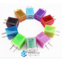 Wholesale Light Emitting Quick Charging Wall Charger USB for Iphone Mobile Phone Accessories from china suppliers