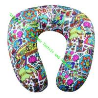 Wholesale U Shape Microbead Neck Pillows For Car, Comfort Foam Travel Neck Pillow Cushion from china suppliers