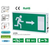 Wholesale LE291A: Rechargeable Emergency Exit Sign-2x8Watt., Maintained / Sustained from china suppliers