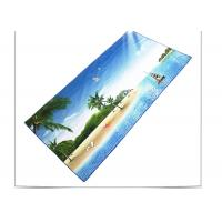 Wholesale Quick Drying Microfiber Beach Towel , Sports Beach Towels With Square Shaped from china suppliers