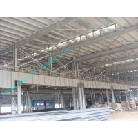 Wholesale Light Weight Pre-engineered Steel Building With Corrugated Sheet Surrounding from china suppliers