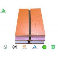 Wholesale 4-ftX8-ft melamine shoe store decorative mdf slot wall from china suppliers