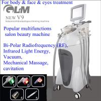 Wholesale V9 Velashape Vacuum Slimming Machine Bi-Polar For Body & Face & Eyes Treatment from china suppliers