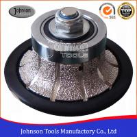 Wholesale No.2 Half Bullnose Vacuum Brazed Diamond Tools For Edging Stone  from china suppliers