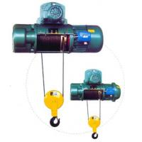 China Transfer Cars Electric Wire Rope Hoists with Lifting Capacity 0.5~50ton CD, MD Type on sale
