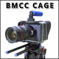 Wholesale New lightweight camera cage rig for BMCC BLACKMAGIC CINEMA camera Fast Delivery from china suppliers