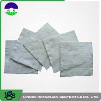 Quality 100% Polyester Continuous Filament Nonwoven Geotextile Filter Fabric Grey Color for sale