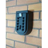 Wholesale 10 Digit Push Button Safety Wall Mounted Key Box Keyless Weather Resistant from china suppliers