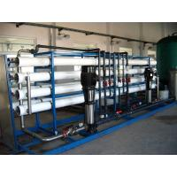 Wholesale Single / Double Reverse Osmosis Drinking Water Treatment Machine SS Materail from china suppliers