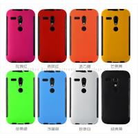 Wholesale Motorola case,PET touch screen protector case for Motorola G,PET+TPU+PC,anti-shock,models from china suppliers