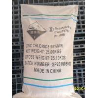 Wholesale High Purity 98%Min Industry Grade ZInc Chloride from china suppliers