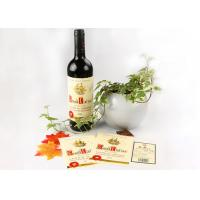 Wholesale Multi Color Screen Printing Wine Sticker Labels With Water Base Glue from china suppliers