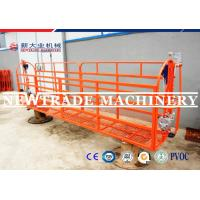 Wholesale Orange 400kgs Construction Cradle For Wall Painting / Window Cleaning Cradle from china suppliers