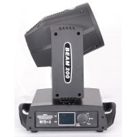 Quality 200W 5R Sharpy Beam Moving Head Lights 14 Colors 17 Gobos For DJ Disco  XMH-200 for sale