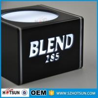 Wholesale Mblack acrylic lighted led wine display led counter display led from china suppliers