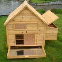 Wholesale Poultry House, Made of Timber with Adjustable Plastic Feet and Removable Metal Tray from china suppliers