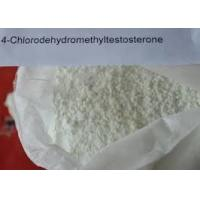 Wholesale Bulking Cycle Oral Anabolic Steroids Turinabol Powder 4 - Chlorodehydromethyltestosterone For Bodybuilding from china suppliers