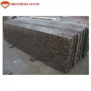Wholesale Beautiful Royal Brown Granite Tiles , Natural Engineered Granite Countertops from china suppliers