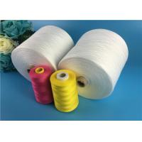 Raw White Knot Less 40s / 2 40s / 3 Spun Polyester Yarn 100% For Sewing Thread