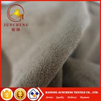 Wholesale 2017 hot sale 100 polyester faux suede fabric for shoe/sofa/garment from china suppliers