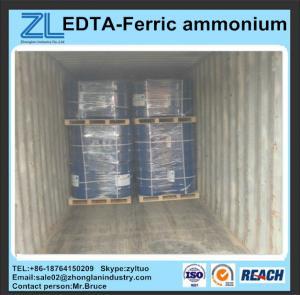 Buy cheap China Ferric ammonium EDTA 40~46% from wholesalers