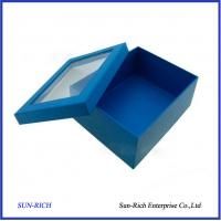 Wholesale Custom High Quality Paper Shoe Box With PVC Window from china suppliers
